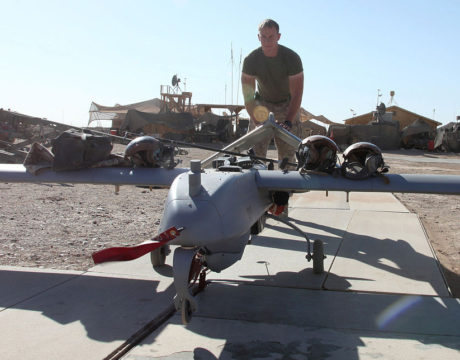 marines and drones