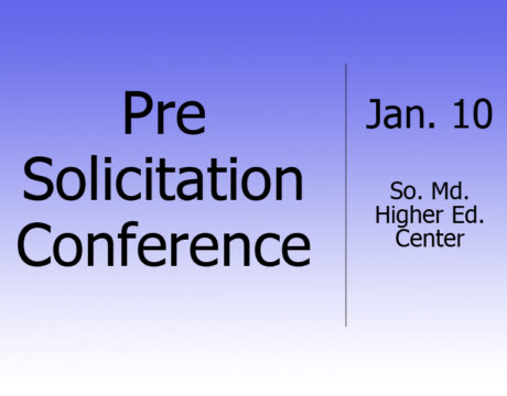 Pre-Solicitation Conference