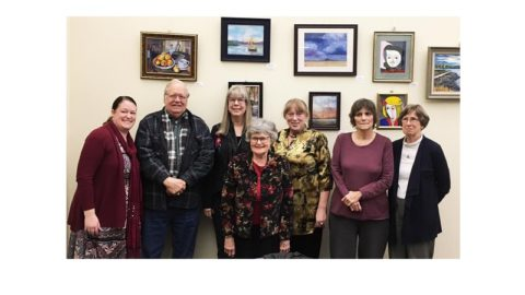 Loffler Seniors Art Show at Library