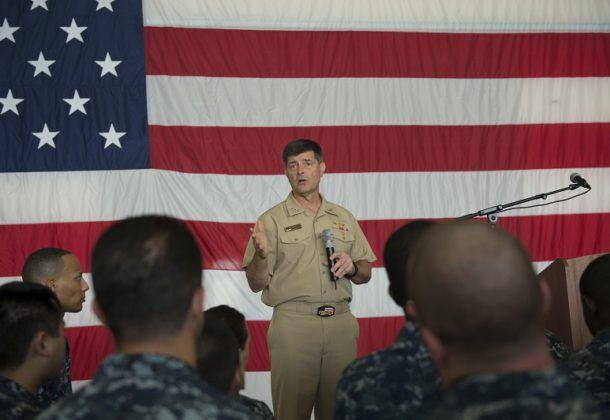 Moran Chosen as Next Chief of Naval Operations