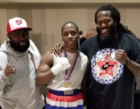 Alexander Earns Golden Gloves Championship