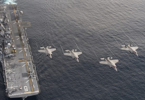 'Lightning Carrier' Deployed to Pacific