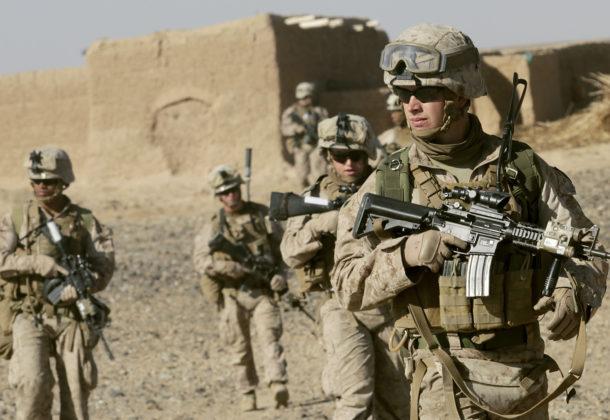 marines deploy