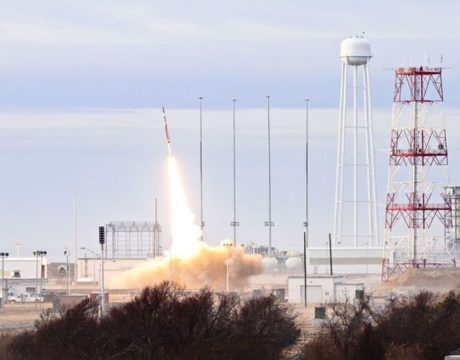 Wallops launch